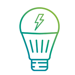The lighting pictogram