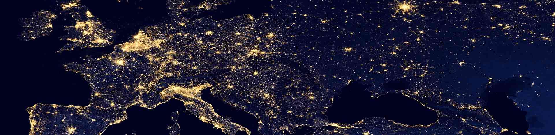 Contaminación lumínica en Europa, un eje de mejora de la eficiencia energética