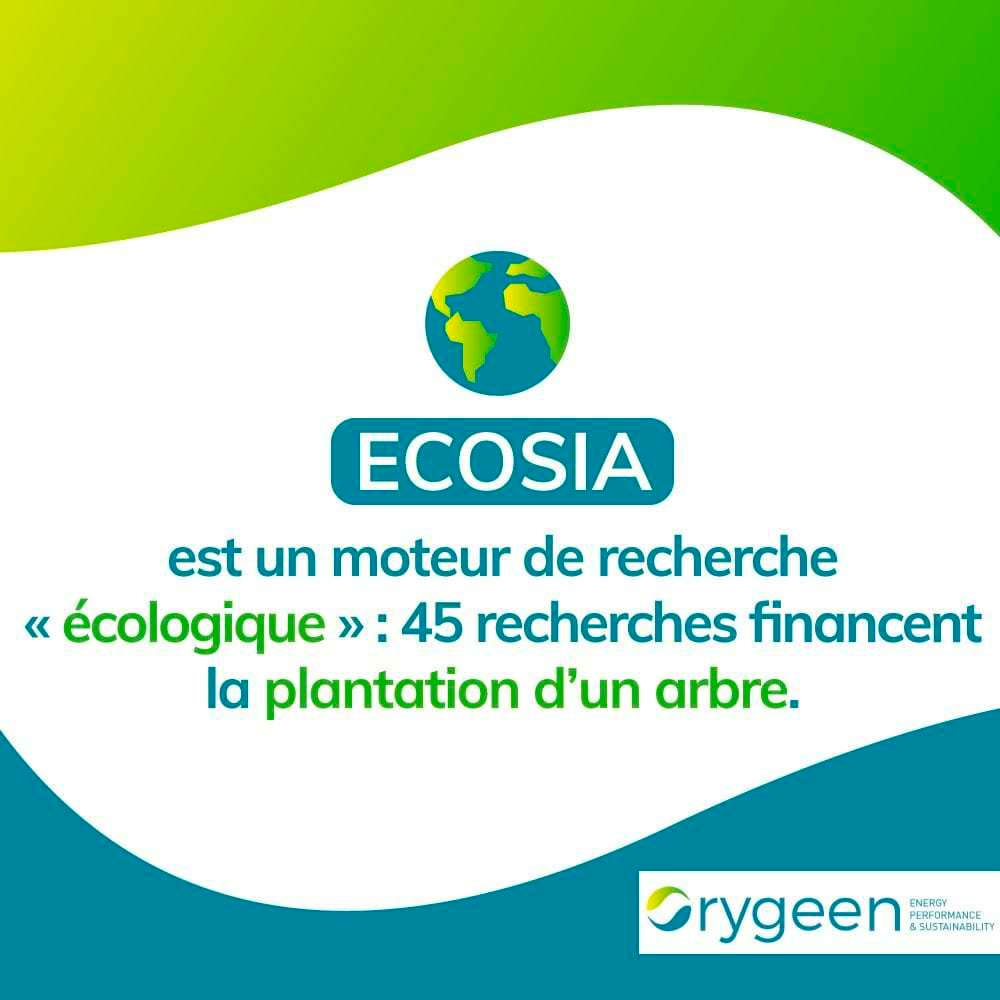 Le Moteur de Recherche Écologique Ecosia