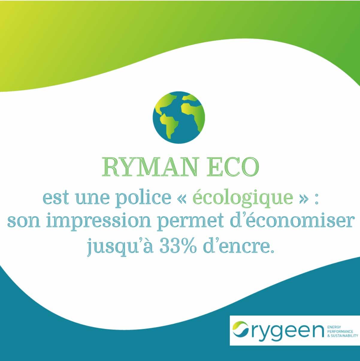La Police Écologique Ryman Eco