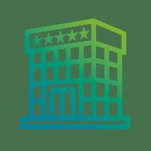 Terciario, GMS (Grandes y Medianas Superficies), complejo hotelero