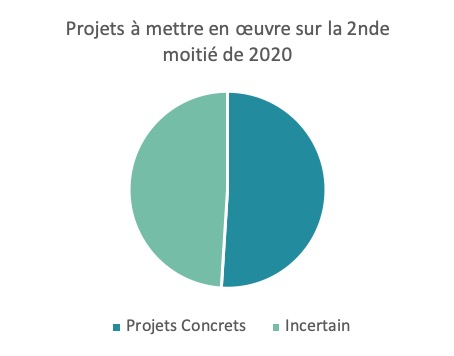 Projets 2nde moitié 2020